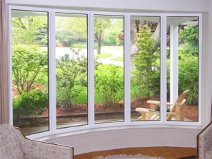 Residential Bow Windows Installation