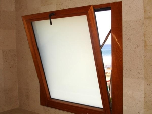 Hopper Window Installation